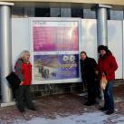 Участники выставки: Минсалим, С.Лугинин и В.Селиверстов