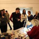 Минсалим проводит Мастер-класс на открытии выставки
